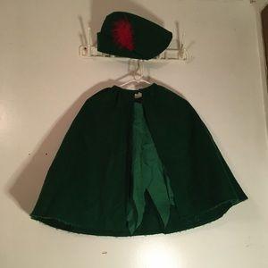 Handmade Peter Pan costume